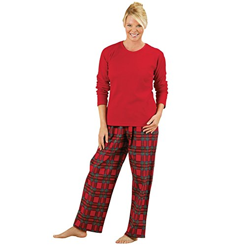Womens Cozy Country Plaid Flannel Pajamas Womens Pajamas Boutique