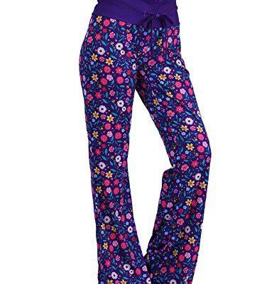 aefba03f20b HDE Womens Cotton Pajama Pants Wide Leg Sleepwear Casual Loose Lounge PJ  Bottoms